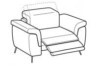 Sofas Zeno Relax armchair