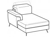 Sofas Zeno Chaise longue
